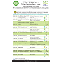 Daily Special Handouts -  $1,500